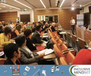 foto di un momento della presentazione del progetto Inclusive Mindset che si è svolta il 19 settembre 2017 a Milano nella Sala Falck di Assolombarda