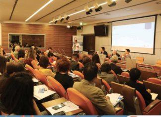 Foto della Sala Flack prima dell'inizio della presentazione di Inclusive Mindset