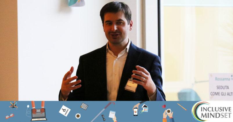 Paolo Beretta - Program Manager Inclusive Mindset - descrive le fasi delle attività della giornata e i passi successivi del programma Inclusive Mindset