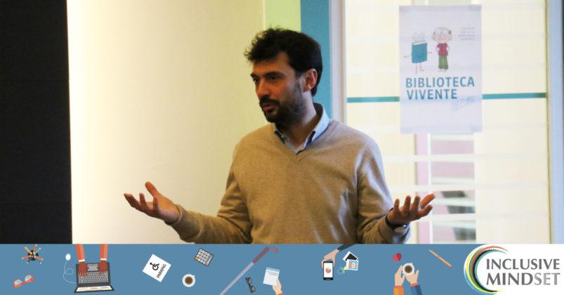 l Prof. Ulderico Maggi spiega i meccanismi della Biblioteca Vivente
