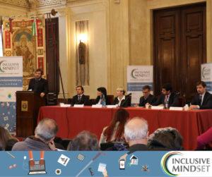Il panel della tavola rotonda dell'Inclusive Mindset Academy