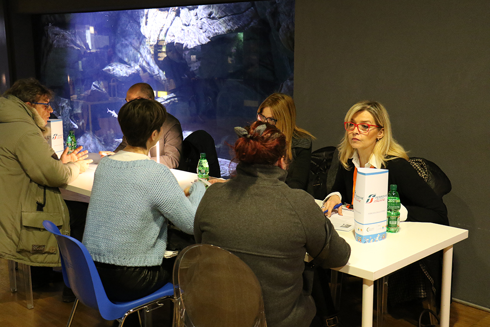Inclusive Job Day all'Aquario civico: Ferrovie dello Stato