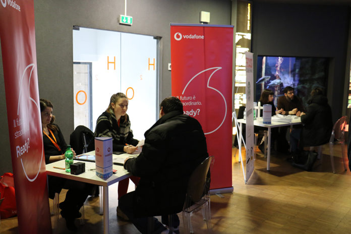 Inclusive Job Day all'Aquario civico: Vodafone