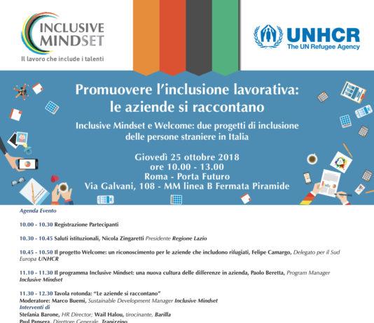 25 ottobre: il programma dell'Academy Inclusive Mindset